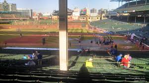 Chicago Cubs Seat Map by Wrigley Field Section 215 Chicago Cubs Rateyourseats Com