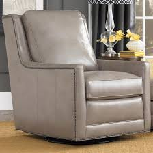 Club Swivel Chairs by Transitional Swivel Chair With Nailhead Trim By Smith Brothers