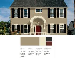 Brown Paint Colors For Exterior House - ideas stunning exterior paint combinations best 25 exterior paint