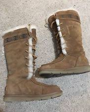 ugg boots womens tularosa chestnut lace up mvoom4duboyorml6iahhguq jpg