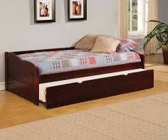 bedroom best glossy wooden full size daybed with trundle decor