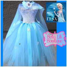 Elsa Frozen Halloween Costume Disney U0027s Frozen Queen Elsa Tutu Dress 6mo 4t Ice Queen Tutu