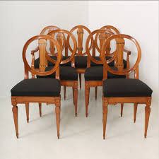 Cherry Dining Room Table And Chairs Louis Xvi Cherry Dining Table Bench And Chairs 1790s Set Of 6