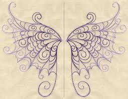 delicate wings wing pair by threads tattoos