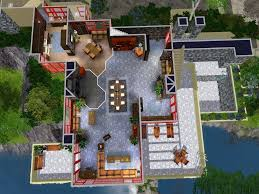 Falling Water Floor Plan Mod The Sims Falling Water Marvel