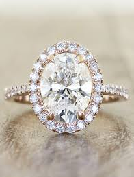 oval engagement rings gold 15 stunning gold wedding engagement rings that melt your