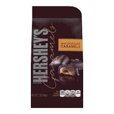 the hershey company hershey u0027s caramels in milk chocolate stand