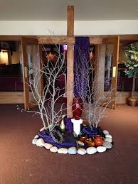 Easter Decorations For Church Breakfast by Best 25 Lent Decorations For Church Ideas On Pinterest Church