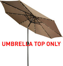 Replacement Patio Umbrella Patio Umbrella Top For 10 Led Patio Umbrella By Trademark Innovations