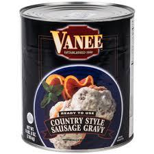 vanee 590px 10 country style sausage gravy