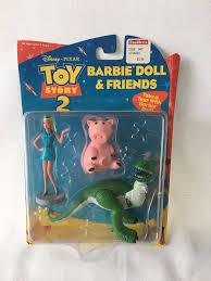 toy story 2 disney barbie doll u0026 friends character toys nib rex