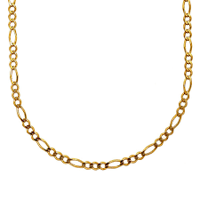 mens figaro chain necklace images Mens 18k yellow gold over silver 20 quot figaro chain necklace jcpenney