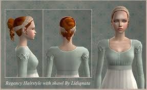 1800s hairstyles for sims 3 mod the sims wcif liqidnata regency hair
