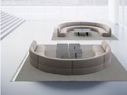 round fabric sofa guest round sofa la cividina vip room