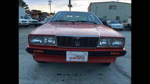 maserati biturbo custom maserati biturbo coupe 1983 youtube