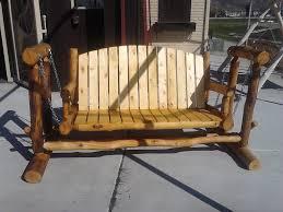 Antique Metal Porch Glider Furniture Solid Unfinished Wood Porch Swing Glider Ideas