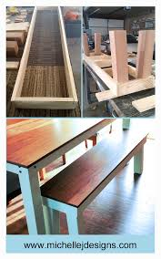 how to create a stunning dining room bench to go