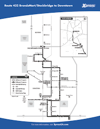 route 432 u2013 mcdonough stockbridge to downtown xpress