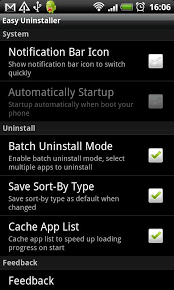 uninstall app android easy uninstaller for android free and software reviews