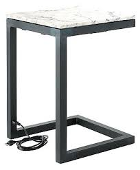 end table with outlet end table with electrical outlets end table with power outlets desk