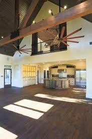 open floor plan with loft wooden walls rustic abode pinterest