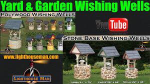 decorative ornamental wishing for yard or garden