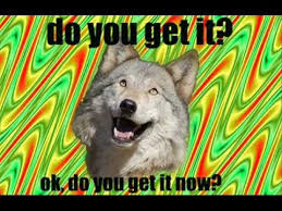 Mad Wolf Meme - trip wolf meme youtube