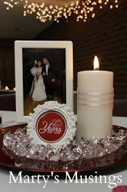 25 year anniversary ideas 25th wedding anniversary decorations thrifty and easy decorations