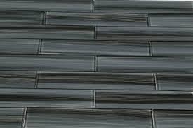 dark gray black 2x12 subway glass tile for kitchen backsplash or