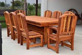 redwood dining tables solid wood dining table sets
