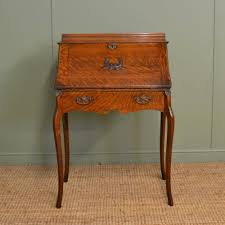 edwardian oak antique bureau desk 260042 sellingantiques co uk