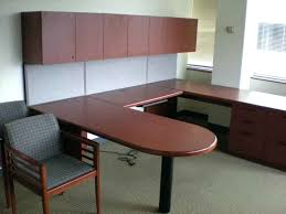 Office Depot Desks And Hutches Desk Used Office Furniture U Shaped Desk U Shaped Office Desk