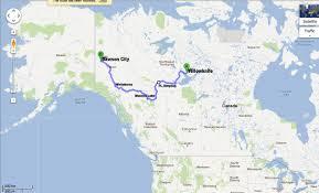 Yukon River Map Yellowknife To Dawson City And Back Again