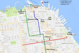 Map Of Chinatown San Francisco by Ride A San Francisco Cable Car What You Need To Know