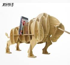 exclusive bullfighting bull side several animal shaped wooden