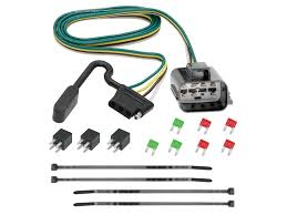 tekonsha 118270 custom fit wiring harness with 4 flat connector