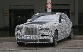 roll royce phantom 2016 2018 rolls royce phantom mk2 spied inside and out gets fully