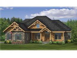 home plans craftsman home plan homepw75922 2233 square 3 bedroom 2 bathroom