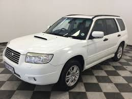 subaru forester car used subaru forester 2 5 xt auto for sale