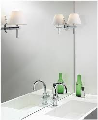 Bathroom Wall Lights For Mirrors Mirror Fixing Kit For Wall Lights Bathroom En Suite Cloakroom