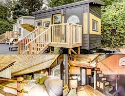 tiny digs book now hotel of tiny houses in portland