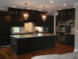 Black Kitchen Cabinets Images 25 Best Dark Cabinets And Dark Floors Ideas On Pinterest Dark