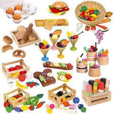 spielküche zubehör holz kinder lebensmittel für kaufladen kaufmannsladen küche zubehör