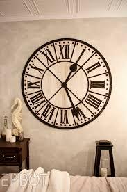 Decorative Wall Clock Bright 48 Wall Clock 106 48 Inch Wall Clock Kit Yosemite Home