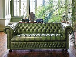 Chesterfield Tufted Leather Sofa Who Doesn T Need A Tufted Green Leather Chesterfield Sofa I