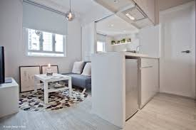 studio small space living simple and breezy interior living