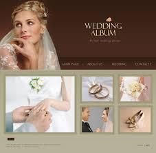 best wedding album website website template 15529 personal wedding page custom website