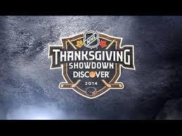 the 2014 discover nhl thanksgiving showdown on nbc