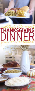 click to get the easiest idea for hosting thanksgiving dinner