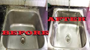 how to clean your kitchen sink how to clean a kitchen stainless